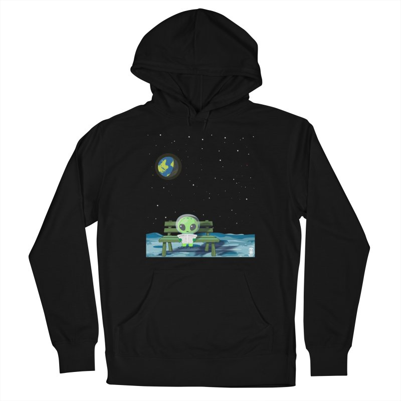 ALONE Women's French Terry Pullover Hoody by Sinazz's Artist Shop