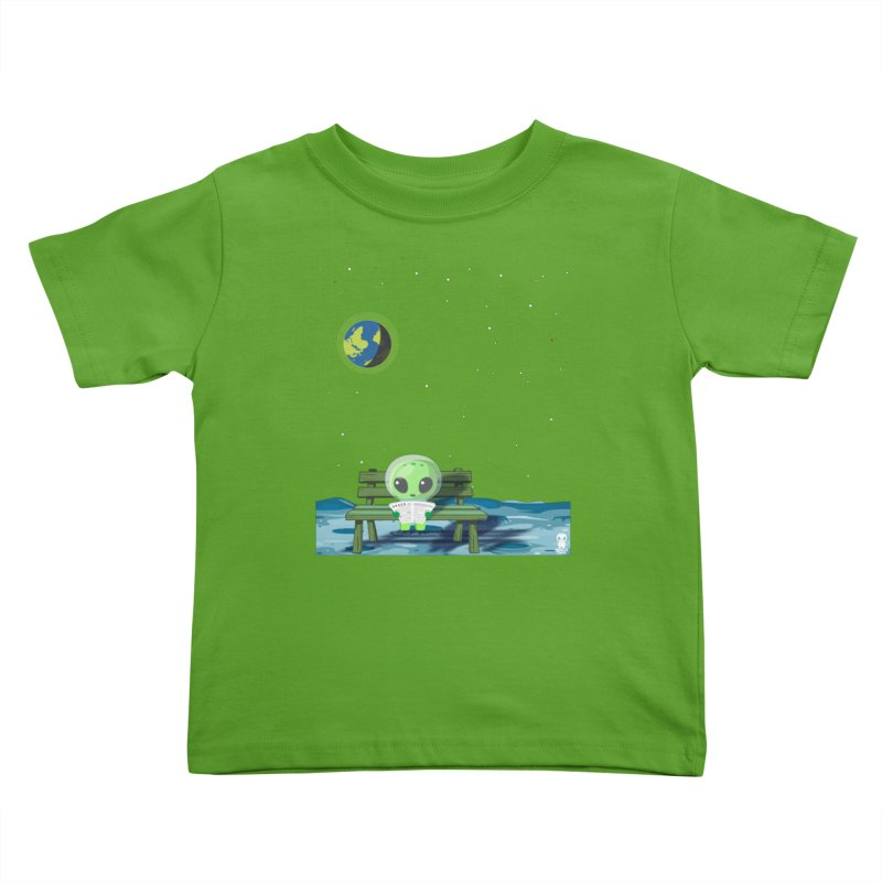 ALONE Kids Toddler T-Shirt by Sinazz's Artist Shop
