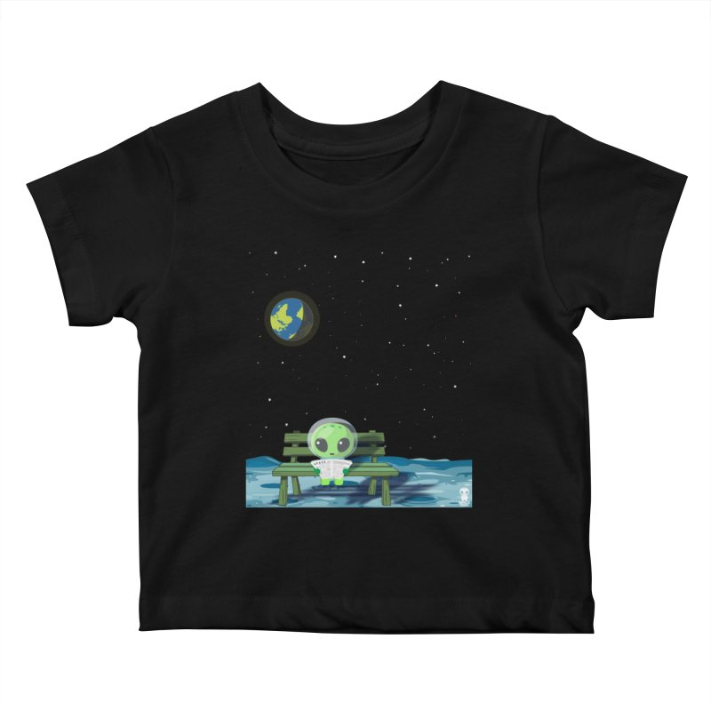ALONE Kids Baby T-Shirt by Sinazz's Artist Shop