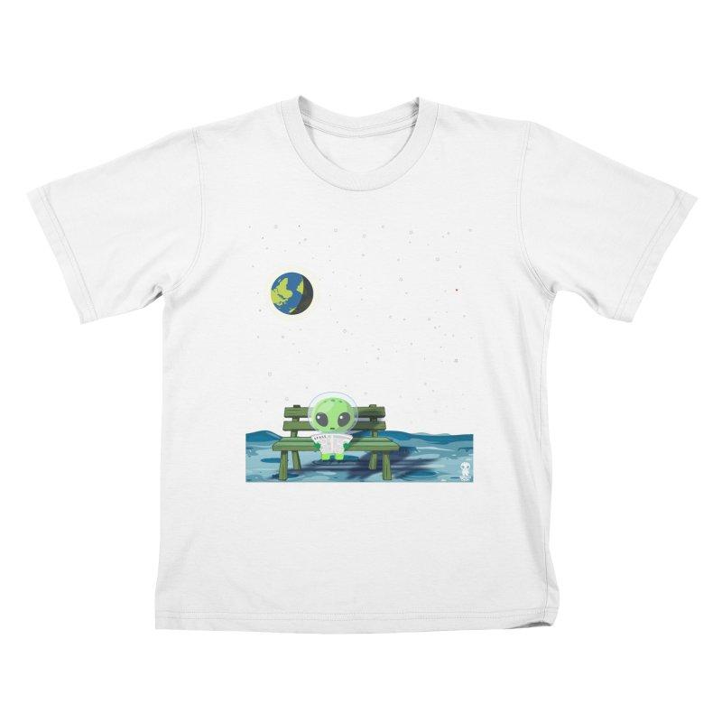 ALONE Kids T-Shirt by Sinazz's Artist Shop