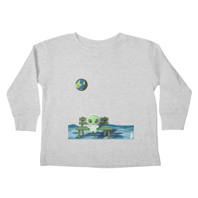 ALONE Kids Toddler Longsleeve T-Shirt by Sinazz's Artist Shop