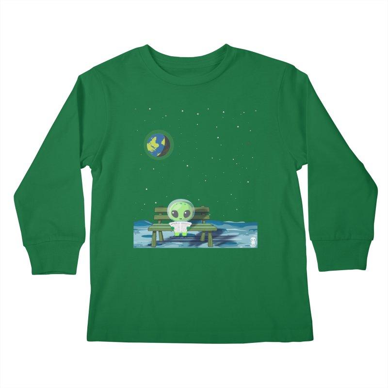 ALONE Kids Longsleeve T-Shirt by Sinazz's Artist Shop