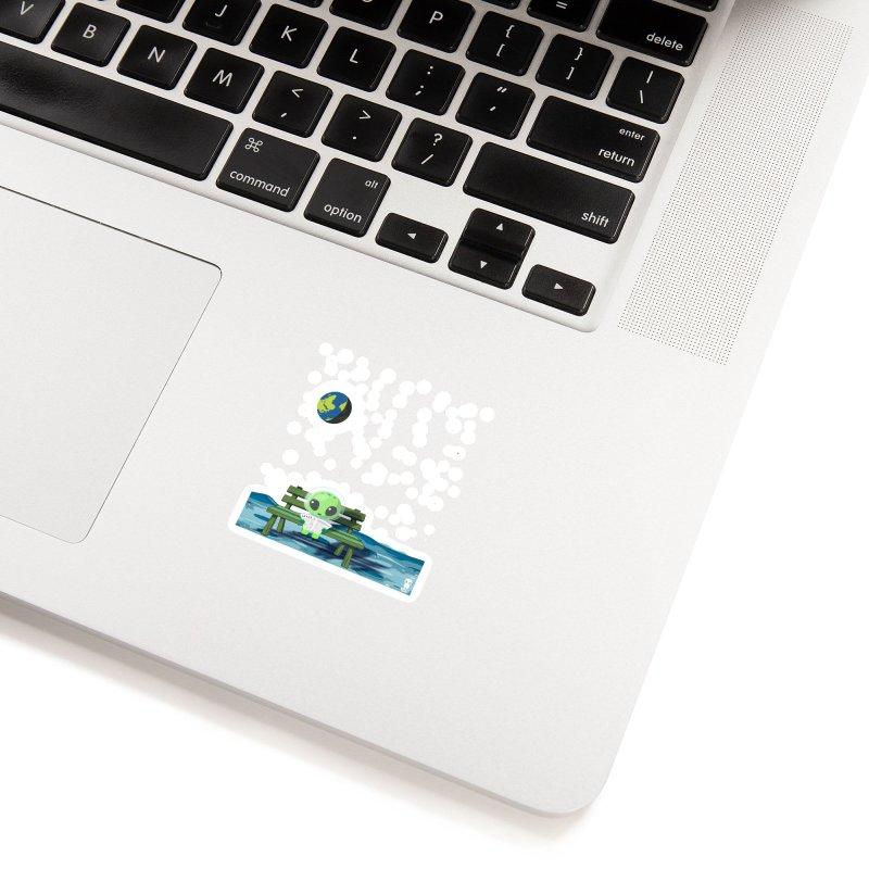 ALONE Accessories Sticker by Sinazz's Artist Shop