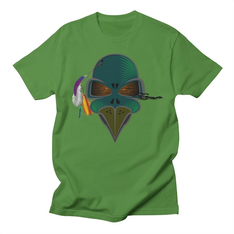 THE DEATH WARRIOR in Men's Regular T-Shirt Clover by Sinazz's Artist Shop