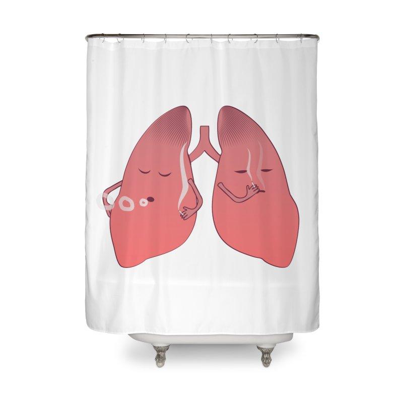 LUNGS ON SMOKE BREAK   by Sinazz's Artist Shop