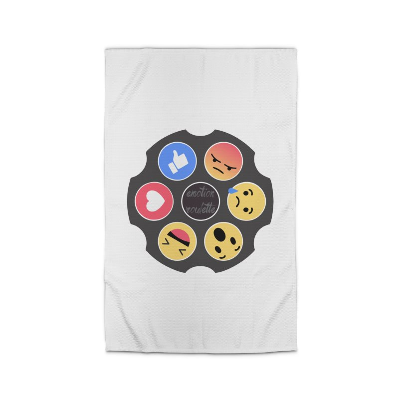 EMOTION ROULETTE Home Rug by Sinazz's Artist Shop