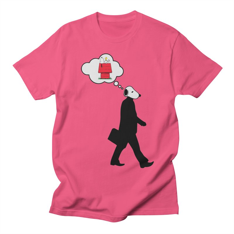 SNOOPY WANT TO CHILL Men's Regular T-Shirt by Sinazz's Artist Shop