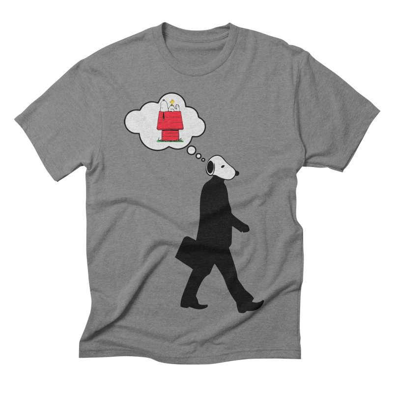SNOOPY WANT TO CHILL Men's Triblend T-shirt by Sinazz's Artist Shop