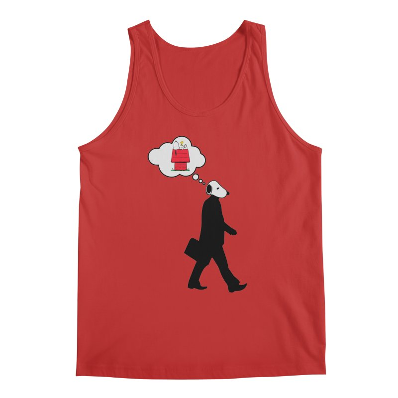SNOOPY WANT TO CHILL Men's Regular Tank by Sinazz's Artist Shop