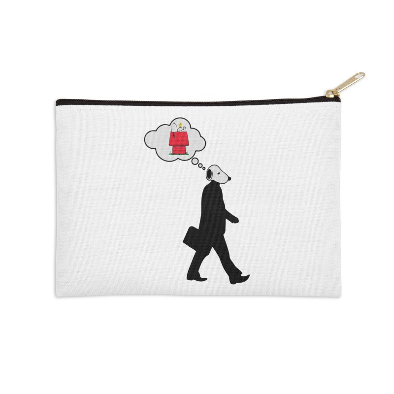 SNOOPY WANT TO CHILL Accessories Zip Pouch by Sinazz's Artist Shop