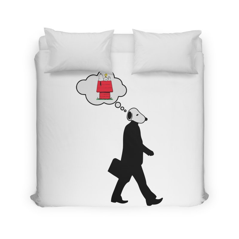 SNOOPY WANT TO CHILL Home Duvet by Sinazz's Artist Shop