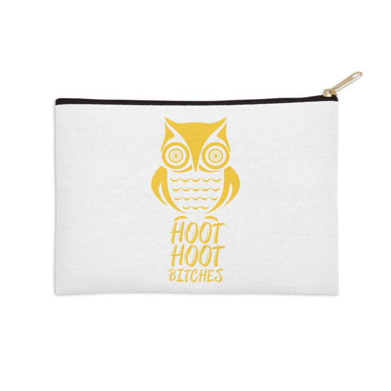 OWL  Accessories Zip Pouch by Sinazz's Artist Shop