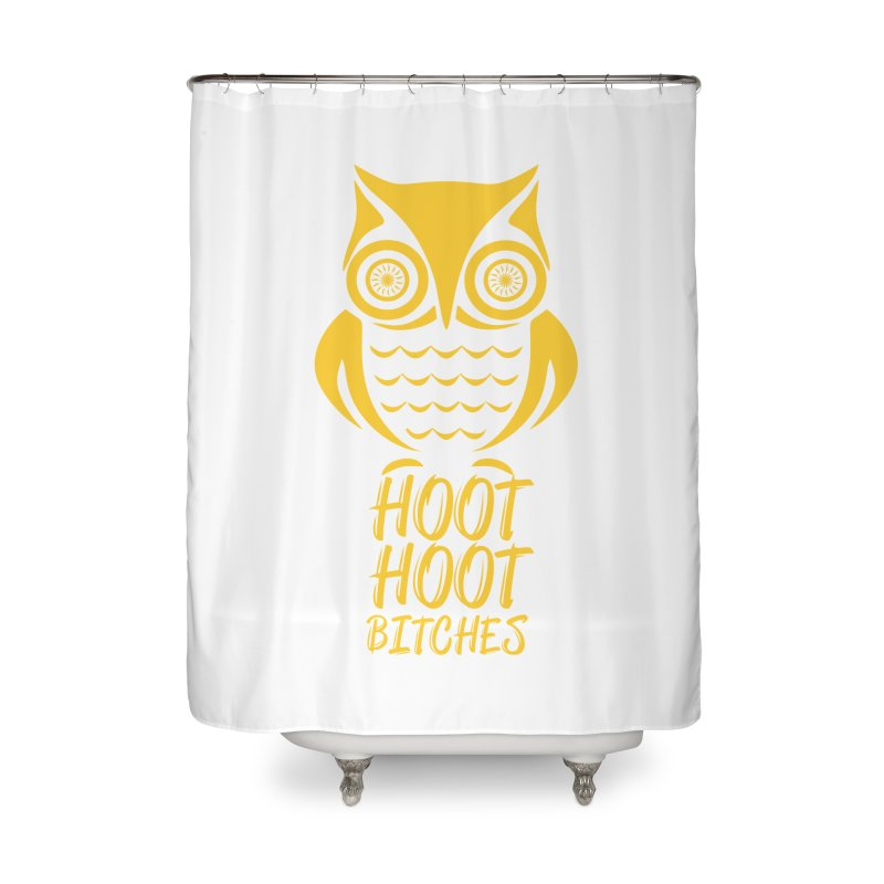 OWL  Home Shower Curtain by Sinazz's Artist Shop