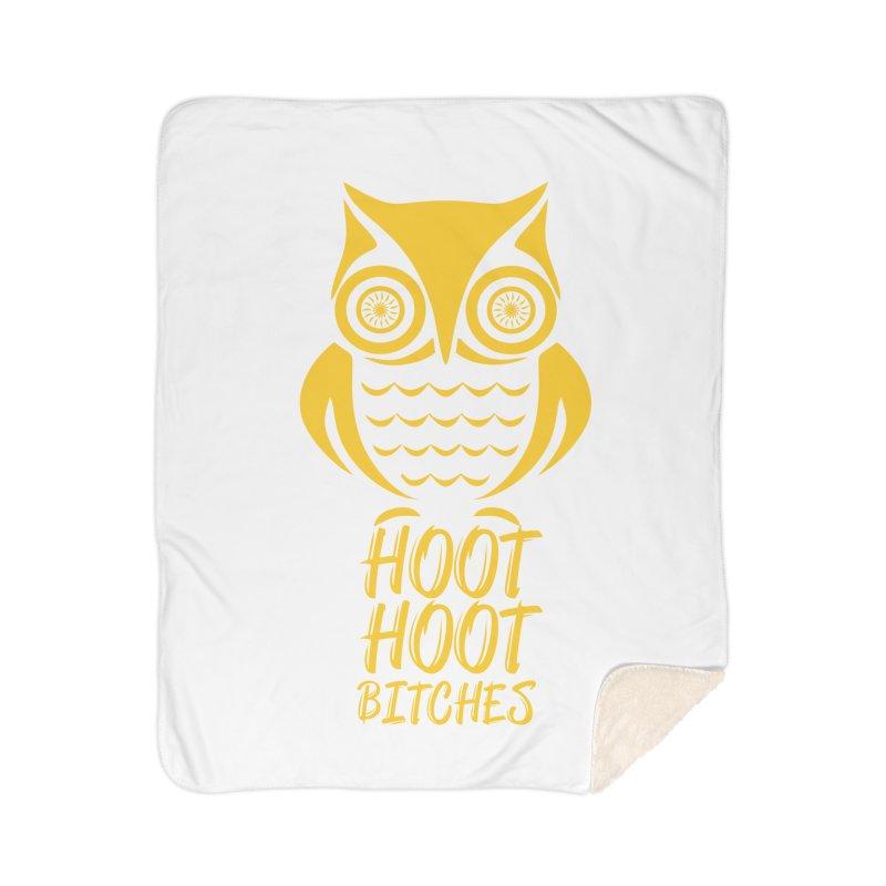 OWL  Home Sherpa Blanket Blanket by Sinazz's Artist Shop