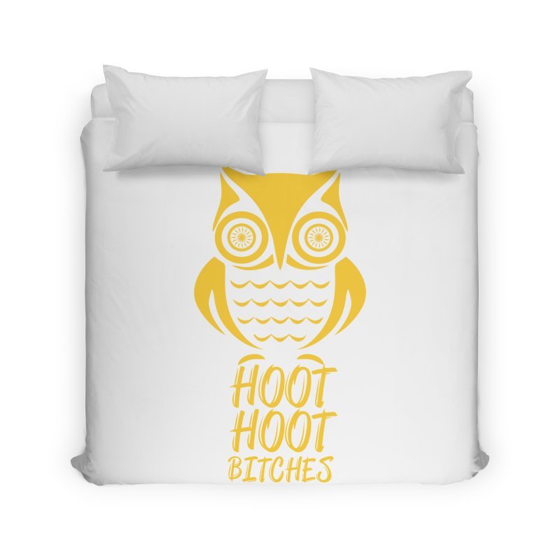 OWL  Home Duvet by Sinazz's Artist Shop