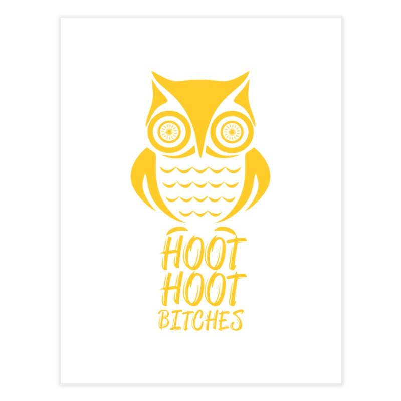 OWL  Home Fine Art Print by Sinazz's Artist Shop