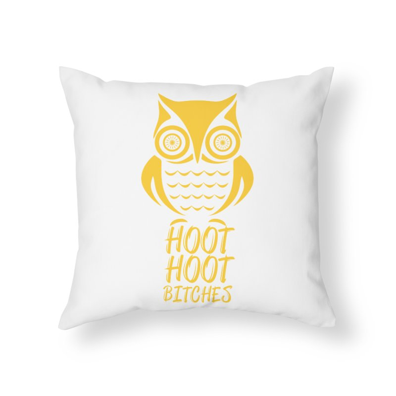 OWL  Home Throw Pillow by Sinazz's Artist Shop
