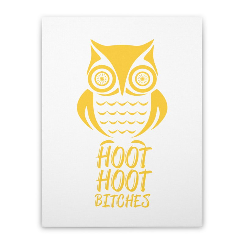 OWL  Home Stretched Canvas by Sinazz's Artist Shop