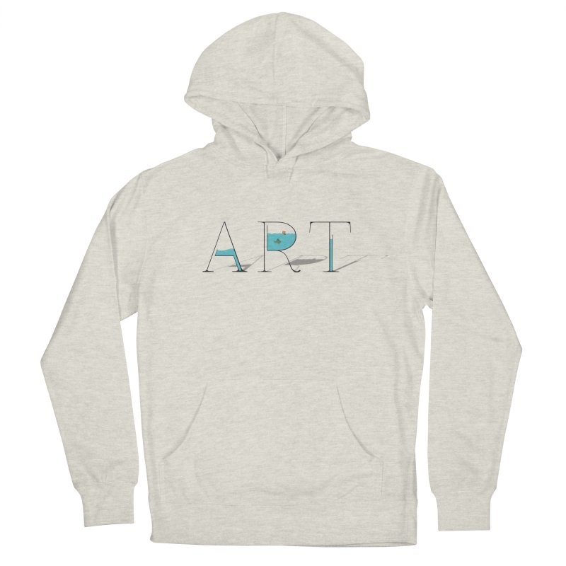 JUST IMAGINE -ART- in Women's French Terry Pullover Hoody Heather Oatmeal by Sinazz's Artist Shop