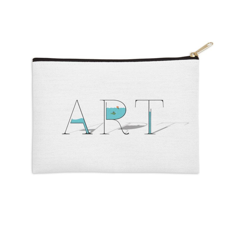 JUST IMAGINE -ART- Accessories Zip Pouch by Sinazz's Artist Shop