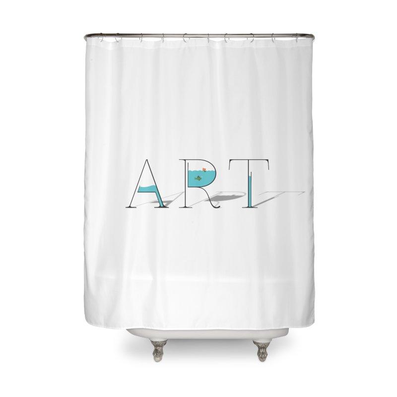 JUST IMAGINE -ART- Home Shower Curtain by Sinazz's Artist Shop