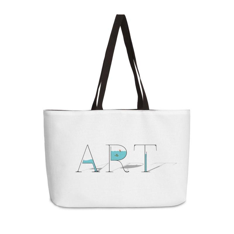 JUST IMAGINE -ART- Accessories Weekender Bag Bag by Sinazz's Artist Shop