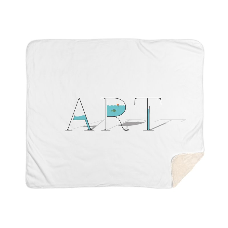 JUST IMAGINE -ART- Home Sherpa Blanket Blanket by Sinazz's Artist Shop