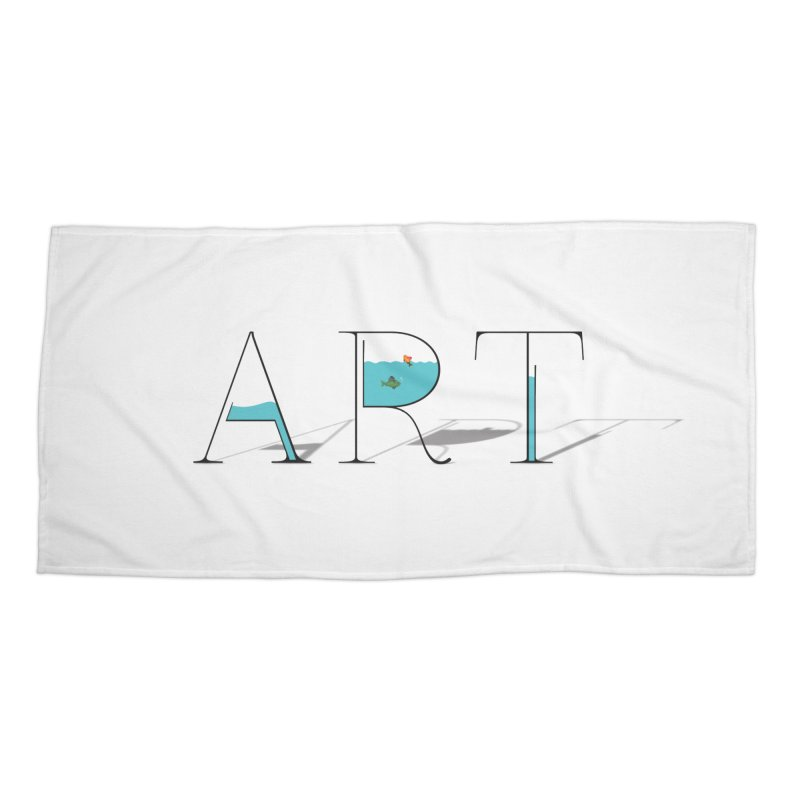 JUST IMAGINE -ART- Accessories Beach Towel by Sinazz's Artist Shop