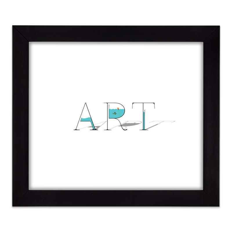 JUST IMAGINE -ART- Home Framed Fine Art Print by Sinazz's Artist Shop