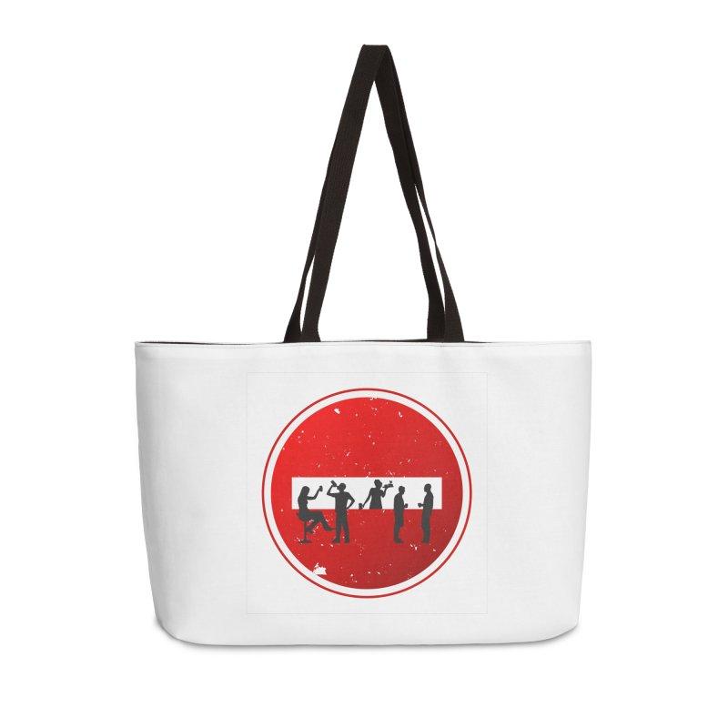 DRINK SIGN Accessories Weekender Bag Bag by Sinazz's Artist Shop