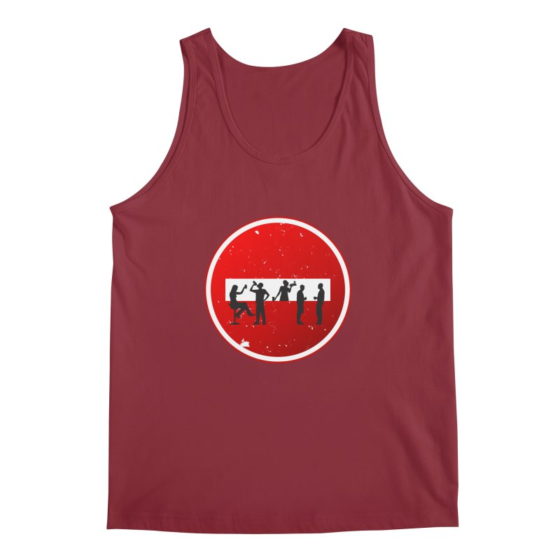 DRINK SIGN Men's Tank by Sinazz's Artist Shop