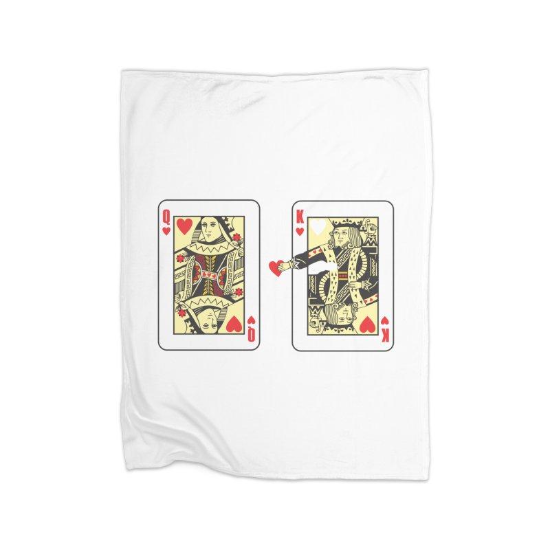 KING & QUEEN Home Fleece Blanket Blanket by Sinazz's Artist Shop