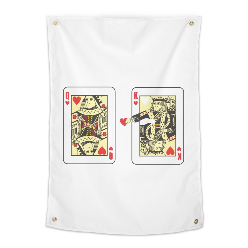 KING & QUEEN Home Tapestry by Sinazz's Artist Shop