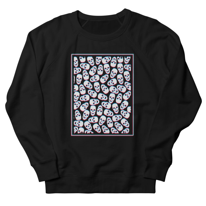 SKULL MY DAY in Men's French Terry Sweatshirt Black by Sinazz's Artist Shop