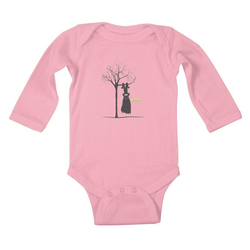 BE BATMAN THEY SAID... Kids Baby Longsleeve Bodysuit by Sinazz's Artist Shop