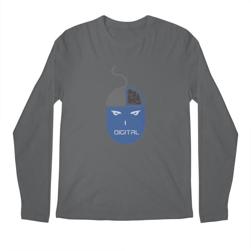 I DIGITAL Men's Longsleeve T-Shirt by Sinazz's Artist Shop