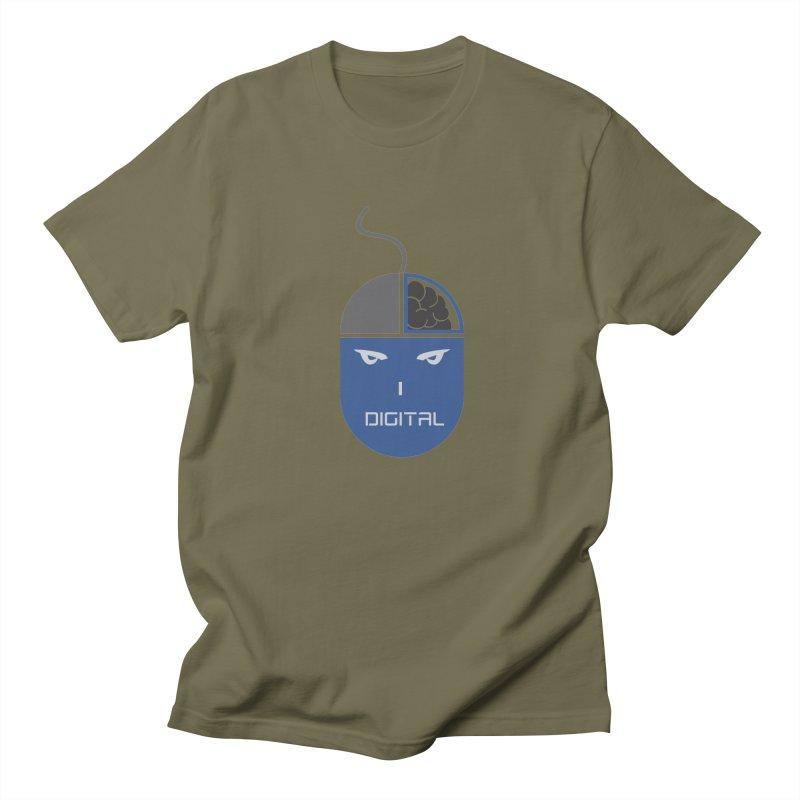 I DIGITAL Men's T-shirt by Sinazz's Artist Shop