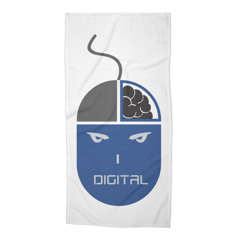 I DIGITAL Accessories Beach Towel by Sinazz's Artist Shop
