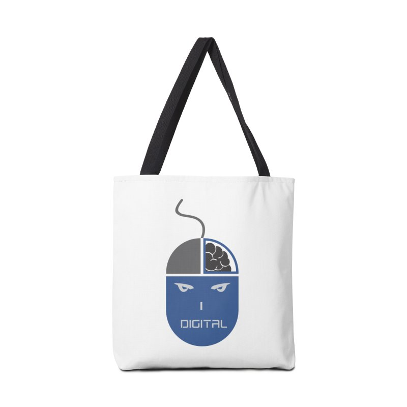 I DIGITAL Accessories Bag by Sinazz's Artist Shop