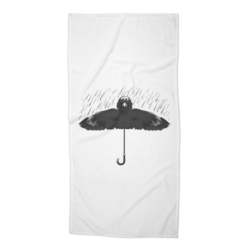 UMBRELLA Accessories Beach Towel by Sinazz's Artist Shop