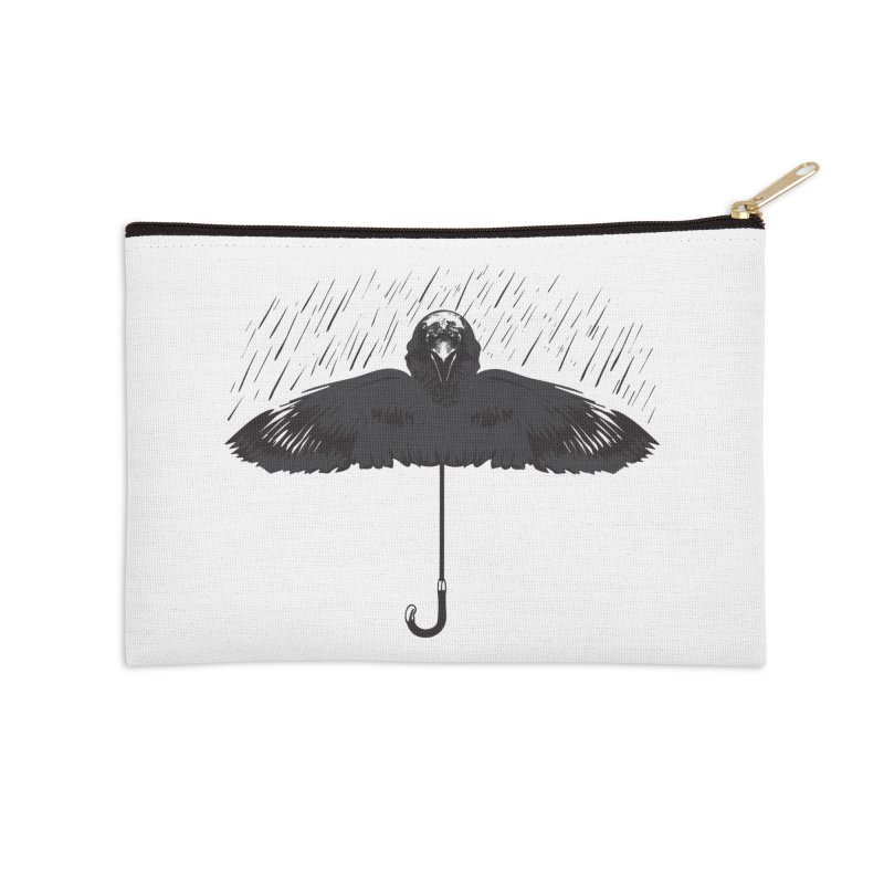 UMBRELLA Accessories Zip Pouch by Sinazz's Artist Shop