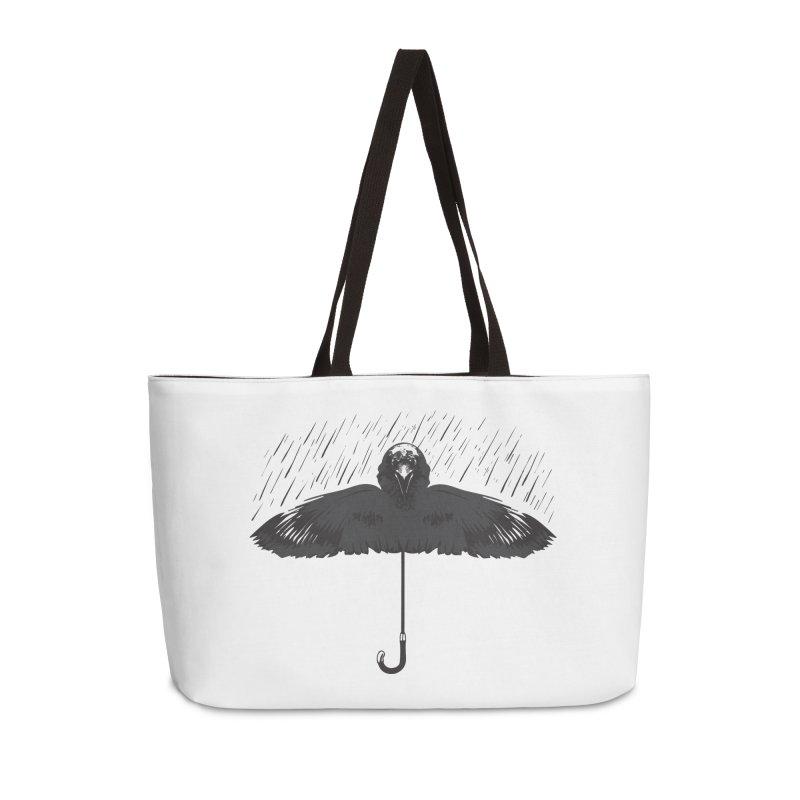 UMBRELLA Accessories Weekender Bag Bag by Sinazz's Artist Shop