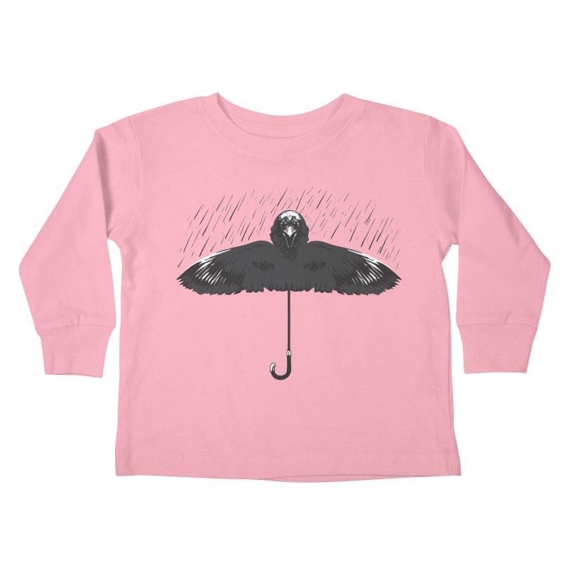 UMBRELLA Kids Toddler Longsleeve T-Shirt by Sinazz's Artist Shop