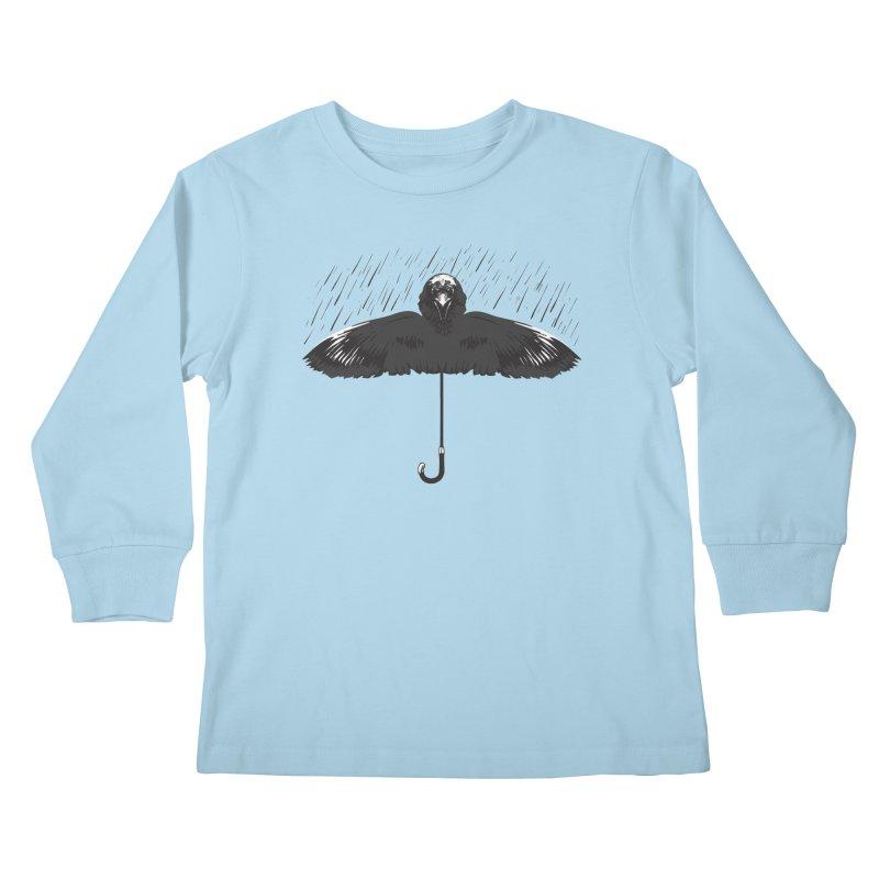 UMBRELLA Kids Longsleeve T-Shirt by Sinazz's Artist Shop