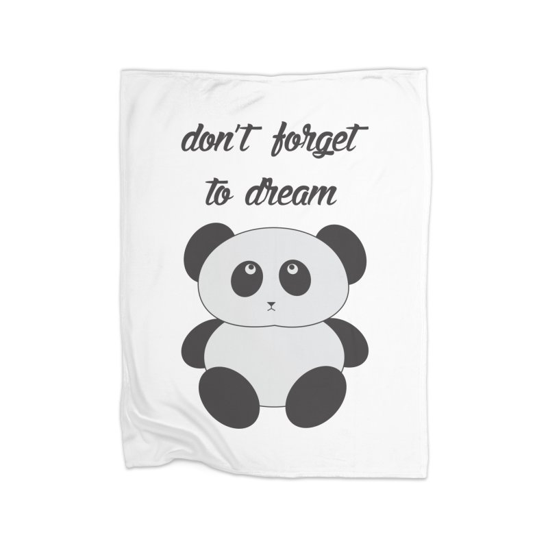 PANDA Home Blanket by Sinazz's Artist Shop