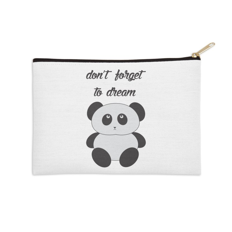 PANDA Accessories Zip Pouch by Sinazz's Artist Shop