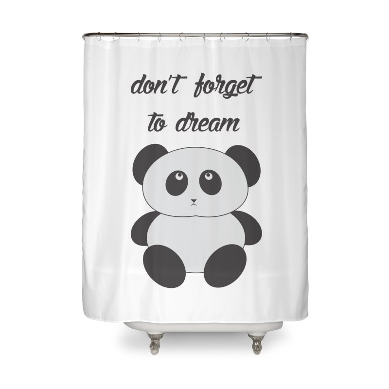 PANDA Home Shower Curtain by Sinazz's Artist Shop