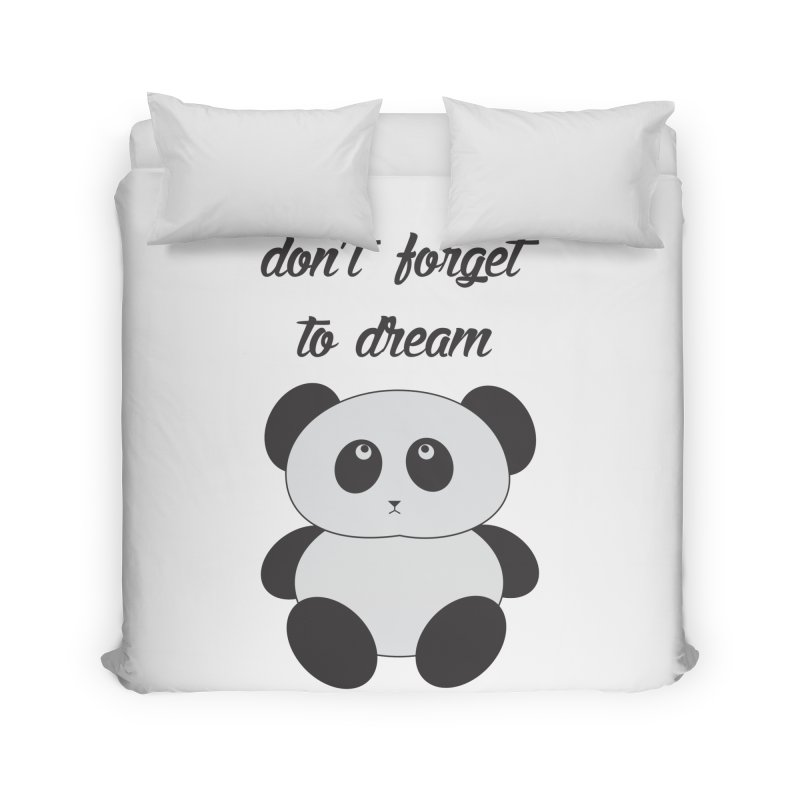 PANDA Home Duvet by Sinazz's Artist Shop