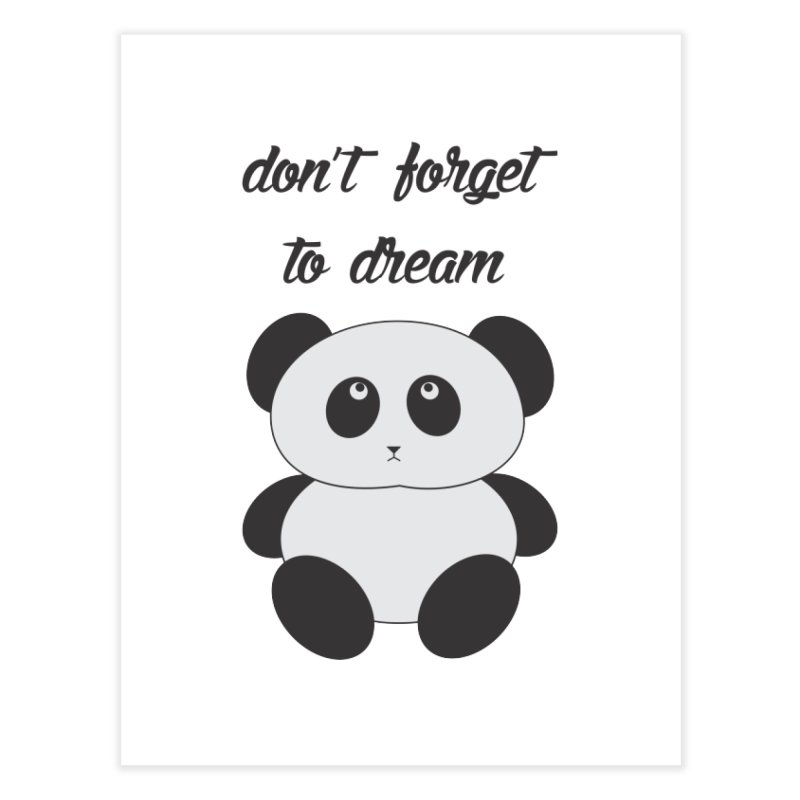 PANDA Home Fine Art Print by Sinazz's Artist Shop