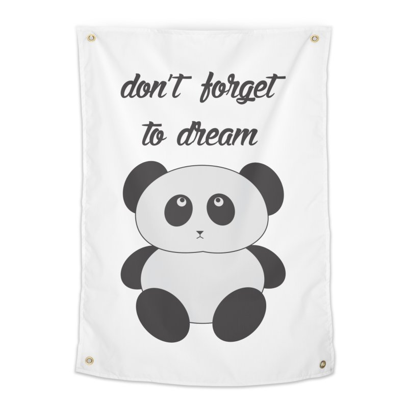 PANDA Home Tapestry by Sinazz's Artist Shop